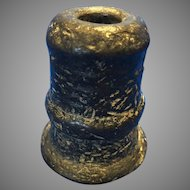 Antique 17th Century Bronze Signal Cannon or Thunder Mug  Spanish Origin