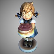 Hummel, Goebel, Sweet As Can Be, Birthday Cake TMK7 541 Club Exclusive
