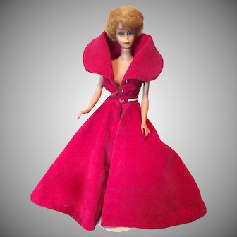 Vintage Bubblecut Barbie in Sophisticated Lady Evening Coat