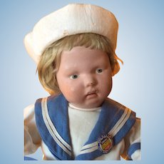 Schoenhut Toddler in Adorable Sailor Outfit