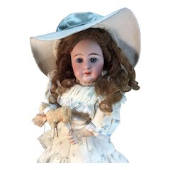 "15"" Simon and Halbig 939  Child Doll on Early body"