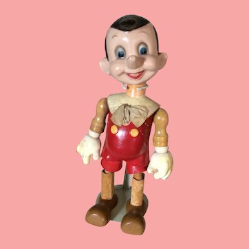 """19"""" Composition Pinocchio by Ideal Toy Company"""