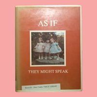 As If They Might Speak-An Illustrated Autobiography Of Dewees Cochran