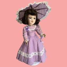 Southern Belle Gown and Parasol for a Mary Hoyer Doll