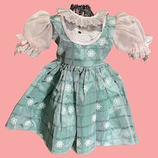 Vintage Factory Made Dress for 1950's Doll