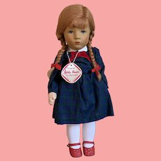 Kathe Kruse Red haired girl  in Original Box-Beautiful Little Girl!!