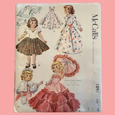 McCall's 1954 Mary Hoyer Pattern Never Opened