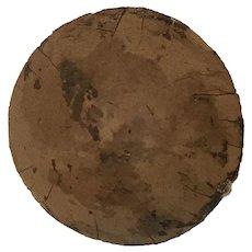 Round cardboard pate - German style