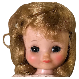 """8"""" Tiny Betsy McCall blonde bride doll by American Character"""