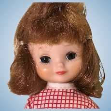 "8"" Tiny Betsy McCall first year tosca hair color  doll by American Character"