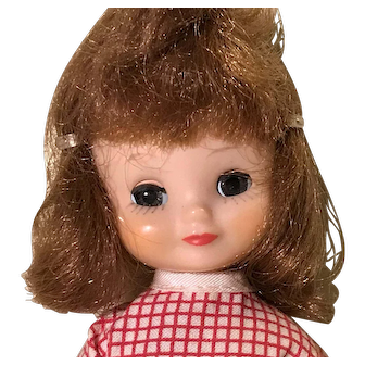 """8"""" Tiny Betsy McCall first year tosca hair color  doll by American Character"""