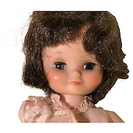 """8"""" Tiny Betsy McCall brunette first year doll by American Character"""