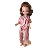 """8"""" Tiny Betsy McCall redhead doll by American Character"""