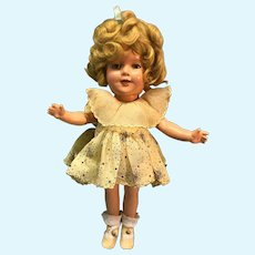 """13"""" Ideal Shirley Temple doll from 1935"""