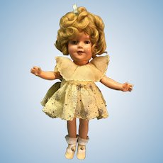 "13"" Ideal Shirley Temple doll from 1935"