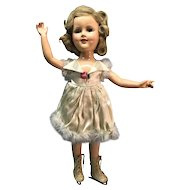 "18"" Composition Sonja Henie doll"