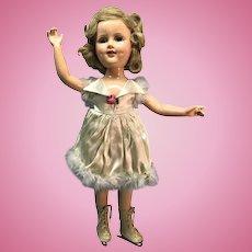 "18"" Composition Sonja Henie doll"