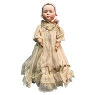 "Rare large size Heubach Baby Stuart 16"" tall bonnet doll"