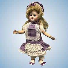 """Tiny 9"""" tall SFBJ Bebe mignonette, Bleuette's little sister"""