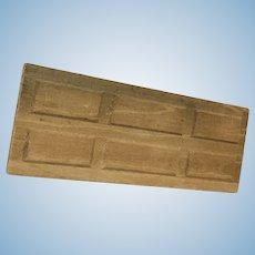 Dollhouse wood flooring, doors, mouldings lot