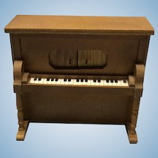 Dollhouse player piano - works