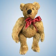 Gold German style mohair teddy bear