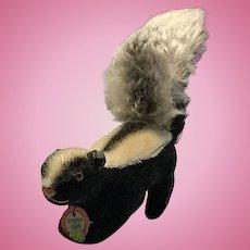 Tiny Steiff Skunk