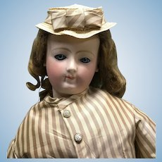 """Rare Louis Doleac French Fashion doll in rare large size! 24"""""""