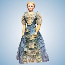 "16"" French Fashion doll by Louis Doleac"
