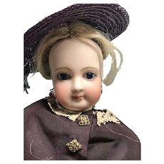 "18"" Simonne French Fashion poupee lady with body stamp - PRICE DROP!"
