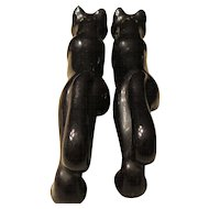 Pussy Cat Salt and Pepper Shakers Japan