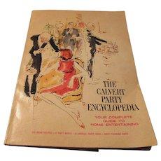 """""""The Calvert Party Encyclopedia"""" 1967 by Calvert Distillers Company"""