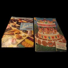 """The Lunch box Cookbook"" & ""Betty Crocker Cooky Carnival"""