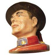 """""""Canadian Mountie"""" Royal Winton Grimwades England"""