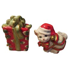 Fitz and Floyd Cat Salt and Pepper Shakers - Red Tag Sale Item