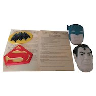 Superman or Batman 1977 DC Comics, Inc. for Decorating and Baking