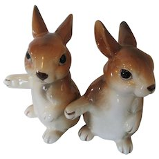 Rabbit Salt and Pepper Shakers 1979 Unieboek B.V.