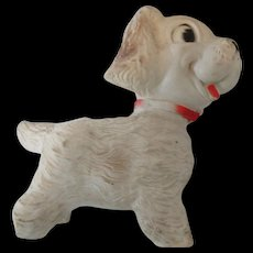 1958 Edward Mosley Co. Squeaky Toy Arrow RubberCo.Dog