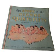 The Story of the Dionne Quintuplets 1936 Whitman Co.