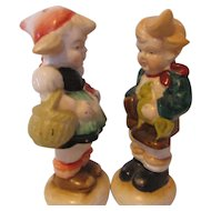 Occupied Japan Salt and Pepper Shakers Vintage Children