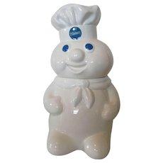 Pillsbury Dough Boy Cookie Jar 1988