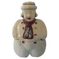 1940s Vintage Cookie Jar USA on Base Shawnee Style: Dutch Boy