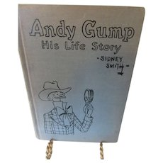 1924 Andy Gump His Life Story by Sidney Smith