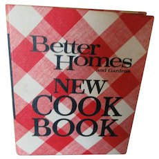 Better Homes and Gardens New Cook Book 1968  !,500 Recipes
