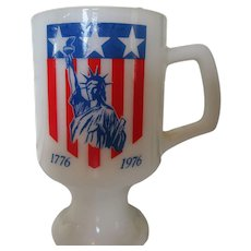 July Coffee Mug 1776  1976 Celebration Mug