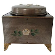 Vintage Working Music Box Oriental Design