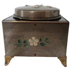 Vintage Working Music Box Oriental Design