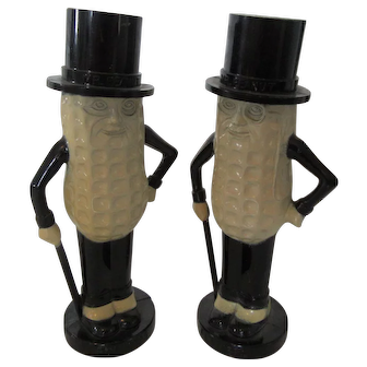 Planters Peanuts Vintage Salt and Pepper Shakers-New