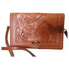 Mid Century Vintage Western Ladies Handbag Used
