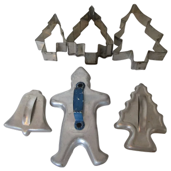 Holiday Cookie Cutters for Cookies or Decorating